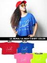 リルミューラル LIL MURAL Tシャツ 半袖 レディース ベーシック ボックスシルエット LIL BOXY T-SHIRT -COLOR- -4.COLOR- -Lady's-