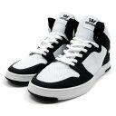 スープラ SUPRA ベイダー2.0 スニーカー 靴 ハイカット 白/黒 スケシュー ストリート スケート スケボー メンズ VAIDER 2.0 -WHITE×BLACK-