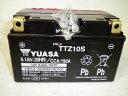 楽天会員様限定!!バイク用グローブプレゼント!!台湾 YUASAユアサ TTZ10S 互換 YTZ10S FTZ10S DTZ10-BS マグザム CB400SF-VTEC YZF-R1 初期充電済 即使用可能