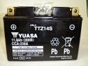 楽天会員様限定!!バイク用グローブプレゼント!!台湾 YUASAユアサ TTZ14S 互換 YTZ14S FTZ14S DTZ14-BS  SC54 CB1300 スーパーボルドール 初期充電済 即使用可能