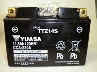 台湾YUASAユアサTTZ14S互換YTZ14SFTZ14SDTZ14-BS初期充電済即使用可能