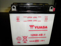 YUASAユアサ12N9-4B-1互換YB9-BFB9-BDB9-BGM9Z-4B