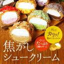 焦がしシュークリーム5個入り【冷凍便】 2トーンシュー、専門...