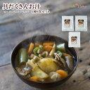 レトルト惣菜 具だくさんお汁 3種9食セット (豚汁 けんちん汁 いも煮汁) 1年保存