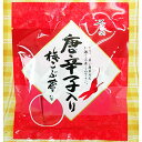 10袋セット不二の唐辛子入り梅こぶ茶 (スティック2gX10包)X10袋