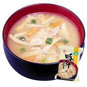 アマノフーズ 無添加 豚汁(とん汁)(国産豚肉使用)10袋 (フリーズドライ 豚汁)【あす楽対応】