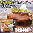 レトルト ハンバーグ 神戸開花亭 芳醇煮込みハンバーグ テリ...