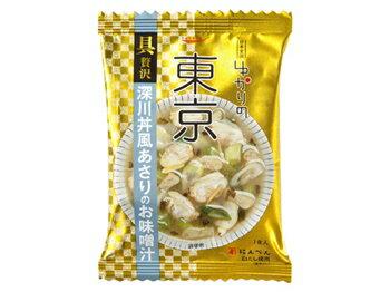 深川丼風あさりのお味噌汁