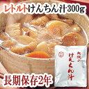 惣菜 レトルト けんちん汁 300g(1人前) 非常食 保存食 【あす楽対応】