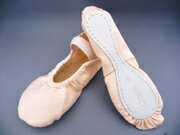 Cloth ballet shoes ( Natasha ) ( chacott ) 16-21・5 cm 5P13oct13_b.