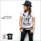 FAIRY Tシャツ【 pornoinvarders ポルノインベーダーズ 】pi001-A- ロックTシャツ パンクTシャツ パンク ロック ROCK PUNK BAMBI ファ
