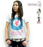 Swing 60 Tシャツ【 BPGT バンビプラネットグラフィックTシャツ 】sp019tee -G- ROCK ロック オリジナル ロックTシャツ モッズ UK Mod''s