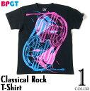 Classical Rock Tシャツ -BPGT-sp069tee-G- 半袖 クラシック ロック ロックTシャツ バンドTシャツ ライブ 楽器 デザイン おしゃれ かっ..