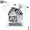 1weekセール☆ セブンスターマンション Tシャツ -pornoinvarders ポルノインベーダーズ-pi005tee-G- ハードコア ロック パンクT...