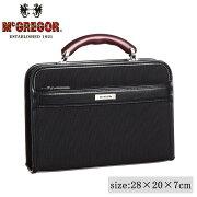 日本製 ビジネスバッグ McGREGOR(マックレガー) ダレスバッグ 21956 ブラック メーカ直送品  代引き不可/同梱不可