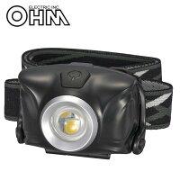 オーム電機 OHM WALED LEDヘッドライト LC-SYW1-K メーカ直送品  代引き不可/同梱不可の画像