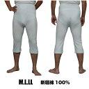 訳あり商品 2種類の白が混じっているのでここまで安い フライス編 綿100% メンズステテコ 紳士 白肌着 M.L. 中国製 メール便対応