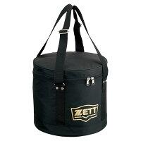 ZETT(ゼット) 野球 ボールケース ブラック (z-ba1235-1900) 【Z-BA1235-1900】の画像