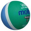 モルテン(Molten) ドッジボール ライトドッジボール 軽量1号球 緑xサックス (mt-sld1msk-) 【MT-SLD1MSK-】