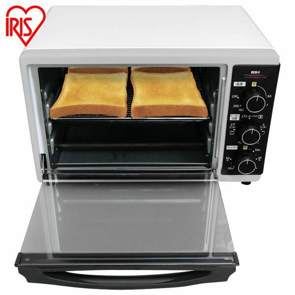 多機能! コンベクションオーブン FVC-D15A-W ホワイト 送料無料 ノンフライ オーブン トースター コンベクション ノンフライオーブン ホワイト アイリスオーヤマ アイリス 白 シンプル おしゃれ