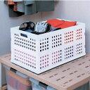 ☆新聞のストックにぴったり♪ おりたたみコンテナ OC-70L アイリスオーヤマ コンテナ 折りたたみ 収納ボックス 収納 整理 小物 キッチン 押入れ