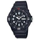 ショッピングチープカシオ メンズ アナログ 腕時計 ブラック MRW-200HJ-1BJFCASIO スタンダード チプカシ アナログ時計 10気圧防水 カシオ 【D】【B】