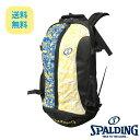 バスケット専用バッグケイジャー限定カラー スポルディング NBA公式球ブランドSPADLING製 CAGER BASKETBALL BAG Backpack バックパック