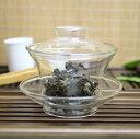 耐熱ガラス蓋碗