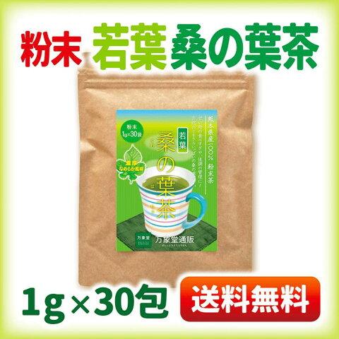 桑の葉茶 若葉 粉末 青汁 熊本県産 国産 1g×30包 健康茶 桑の葉 桑茶 効能 ダイエット 送料無料
