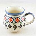 マグカップ ポーランド陶器|ウィザ社|WIZA|ポーランド食器|ボレスワヴィエツ|北欧|ポーリッシュ・ポタリー|Polish Pottery|伝統|プレゼント|ギフト|バースデー|母の日|【楽ギフ_包装】 10P18Jun16