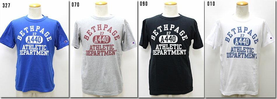 Champion 【チャンピオン】 カレッジTシャツ 半袖 C3-H334 【10P09Jul16】