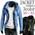ジャケット メンズ ミリタリー トップス アウター ジップアップ コーディネート プレゼント P06May16