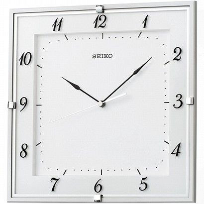 期間限定 セイコー SEIKO 電波掛時計 ラ・クロック KX408W プレゼント 父の日 ※fu P08Apr16