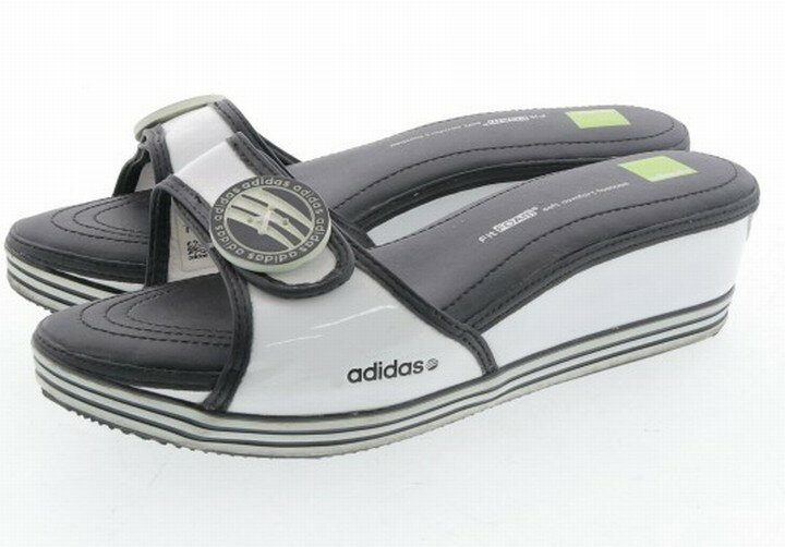 【中古】 adidas アディダス レディース サンダル 25.5cm ブランド 【良品】 【,v1507,】 箱・付属品はお付けできません