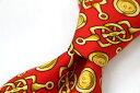 ショッピング ブランド ネクタイ 【中古】GHERARDINI ゲラルディーニ 総柄 良品 メンズ プレゼント 【,r39294,】