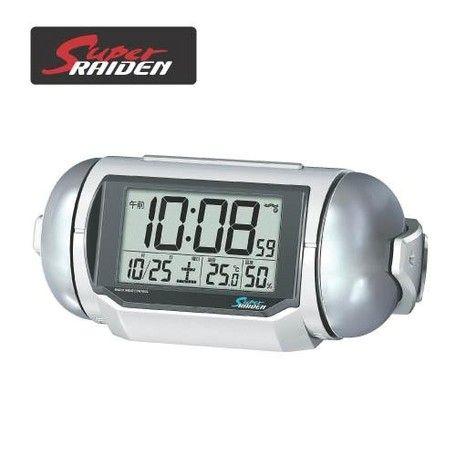 期間限定 置き時計 男女兼用 セイコー ピクシス デジタル スーパーライデン NR523W プレゼント 父の日 ※fu P08Apr16