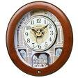 全品ポイント2倍 期間限定 掛け時計 男女兼用 セイコー 電波 掛時計 からくり時計 RE574B 時計 【RCP】 ※fu P27Mar15