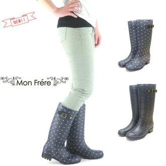 時間有限的雨靴女裝防水颱風雨季長鞋派系雨雨鞋 * 福