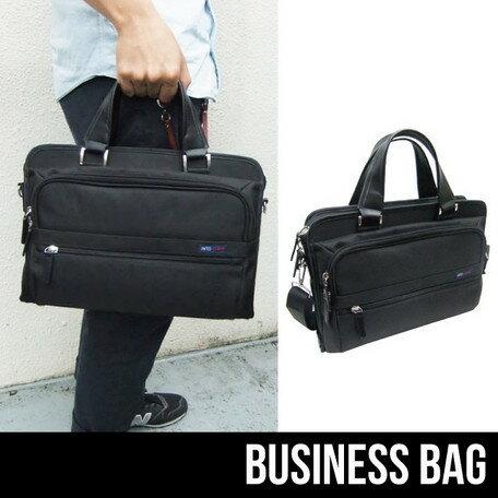 ブリーフケース メンズ バッグ キャリーバー通し付き 鞄 ビジネス ※fu