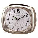 目覚まし時計 メンズ レディース 時計 リズム ビューエリア 8RAA07SR18