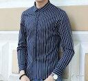 期間限定 カジュアルシャツ メンズ トップス シャツ 長袖 カッターシャツ インナー プリント 総柄 ストライプ ビジネス 細身 きれいめ カジュアル 大きいサイズ メンズファッション ※fu