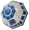 傘 キッズ 雨具 STAR WARS スターウォーズ R2D2 BB8透明 POE 長傘 子供服 洋品