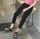期間限定 ハーフパンツ メンズ ボトムス 7分丈 無地 シンプル カジュアル ウエストゴム きれいめ メンズファッション デニム ※fu