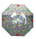 期間限定 傘 キッズ 雨具 はらぺこあおむし 子供用 雨傘 ビニール傘 ビニール水玉 子供服 洋品 ※fu