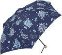 折り畳み傘 レディース 傘 晴雨兼用 日傘 雨傘 折畳み あじさい PUコーティング UV CUT 99.9% UV対策 ファッション雑貨 ...