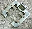 【送料無料】体水分率・体脂肪計付きヘルスメーター(体脂肪計付き体重計)