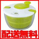 フタにストッパーが付いて操作しやすい野菜水切り器!ジャンボ・サラダスピナー キッチン用品【送料無料】