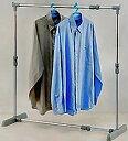 【送料無料】でお届けします。パイプの幅が伸縮自在!押入れ、クロゼットの衣類収納に最適タテ...