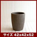 ファイバークレイプロ 24 サン・ミドル スクラッチ 42 ≪大型植木鉢/陶器・テラコッタより軽量なセメントプランター/セール対象2≫