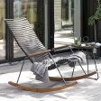 HOUE OUTDOOR クリック ロッキングチェア ≪ガーデンチェア/ガーデンチェアー/椅子/イス/おしゃれ/屋外/庭/肘付き≫